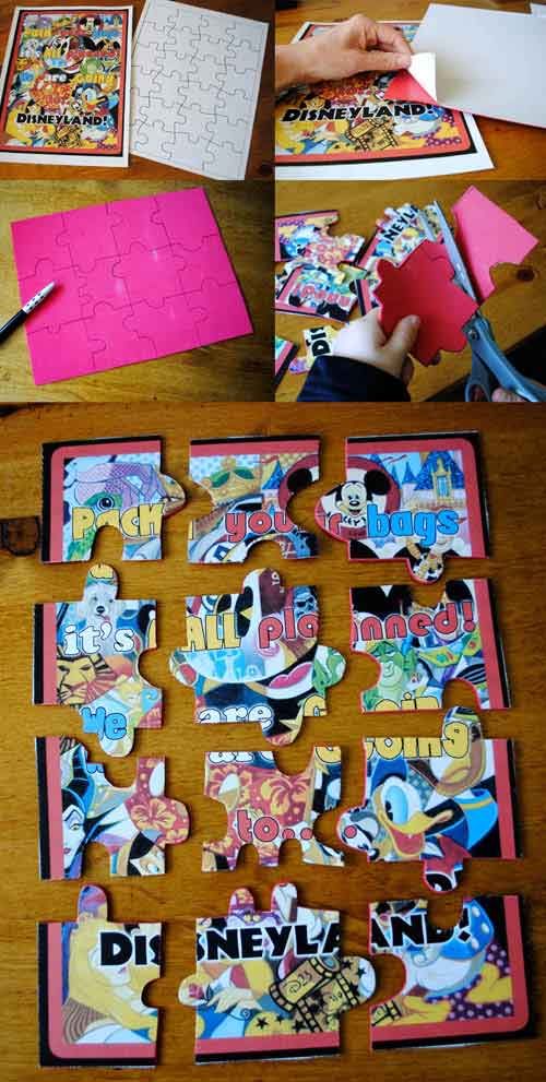 Disney Puzzle Announcement by Get Away Today