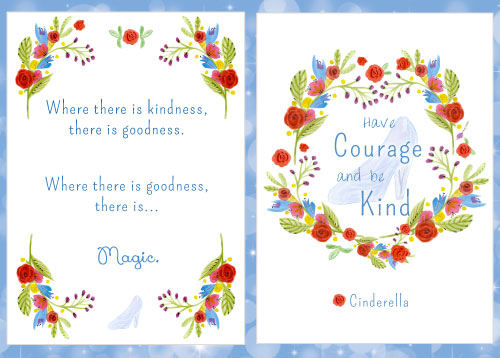 Free Movie Quote Printables From The New Cinderella