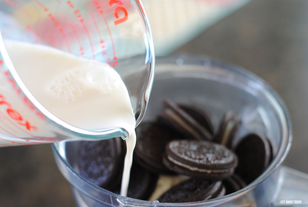 Cookies and Cream Milkshake Milk