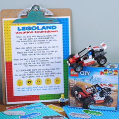 Free Countdown to LEGOLAND Printable