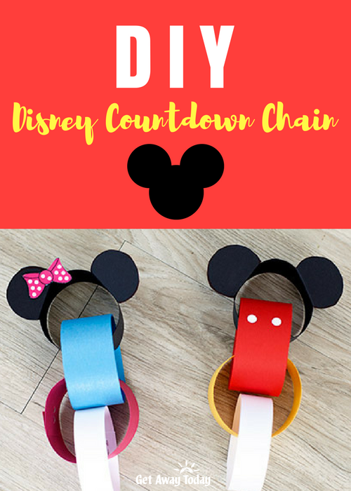 DIY Disney Countdown Chain Pin | Get Away Today
