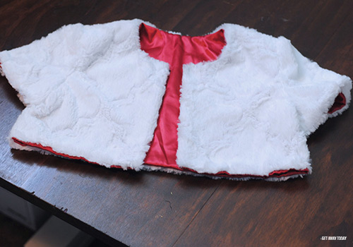 Cruella de Vil Costume Tutorial Jacket