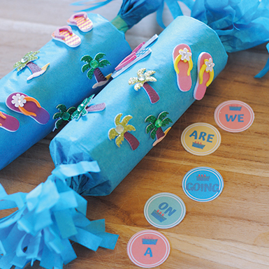 DIY Confetti Popper Cruise Vacation Surprise
