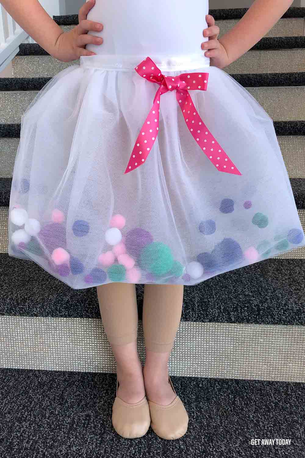 DIY tulle skirt wear