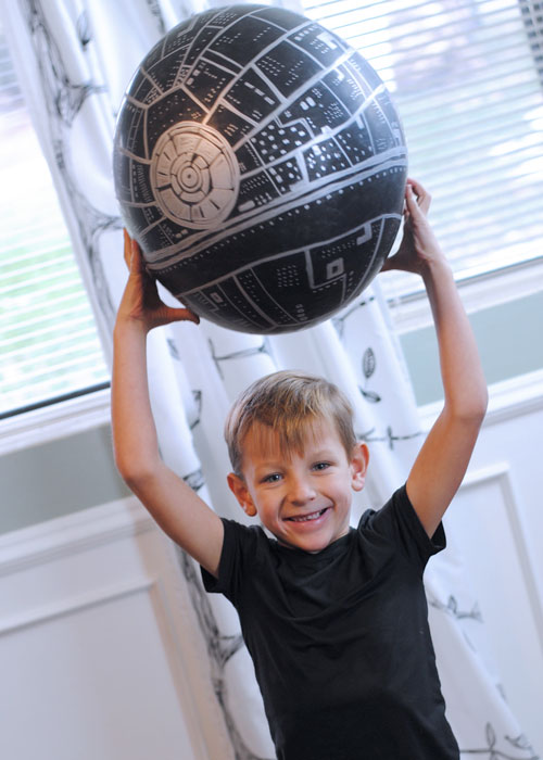 Star Wars Death Star Vacation Surprise Balloon