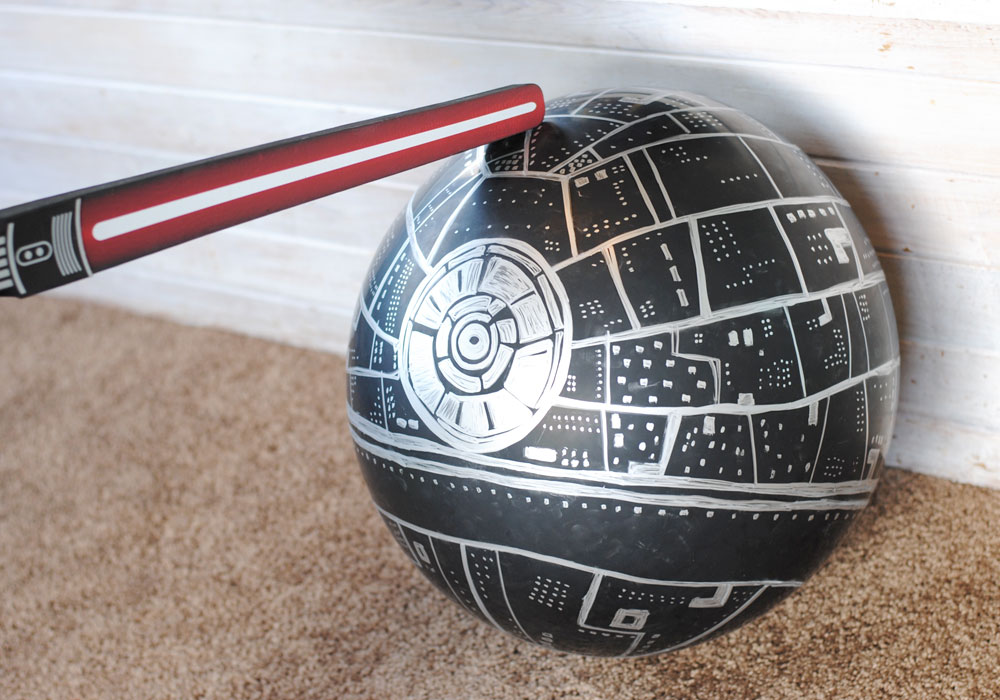 Star Wars Death Star Vacation Surprise Hit Balloon