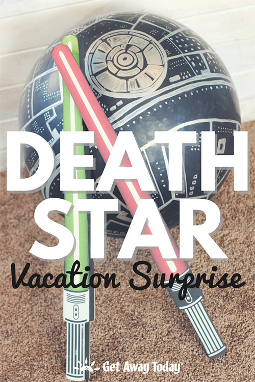 Star Wars Death Star Vacation Surprise