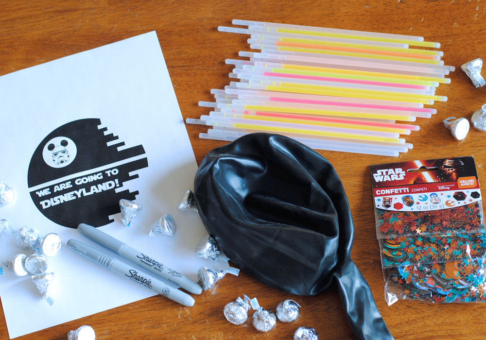 Star Wars Death Star Vacation Surprise Supplies