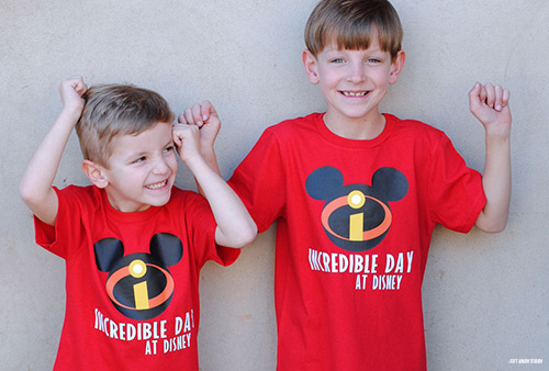 Disney Incredibles T-Shirt Download