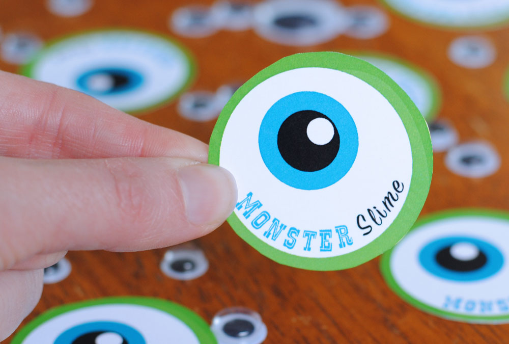 Disney Slime Monsters Inc Edition Eye