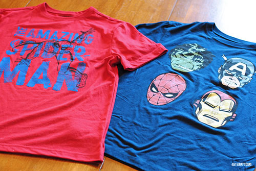 Disney Drawstring Bag Tutorial Shirts