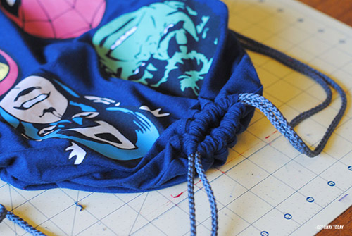 Disney Drawstring Bag Tutorial Shirts Top