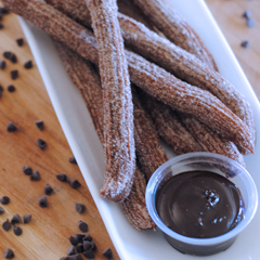 Copycat Disneyland Chocolate Churros Recipe