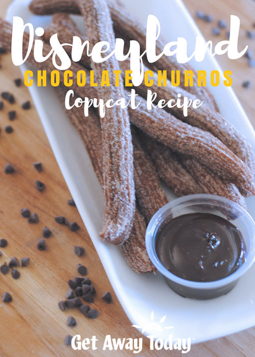 Disneyland Chocolate Churros Dip