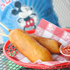 Copycat Disneyland Corn Dog Recipe