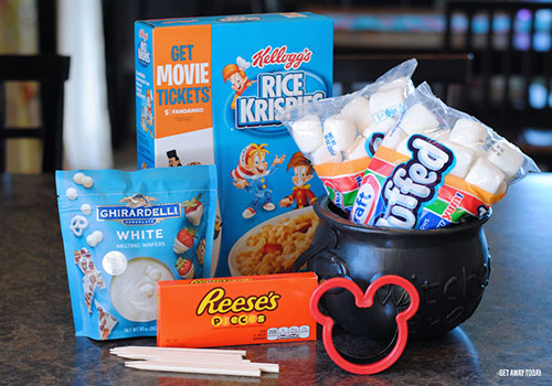 Disneyland Mickey Mummy Crispy Treats Supplies
