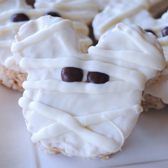 Disneyland Mickey Mummy Crispy Treats Copycat Recipe