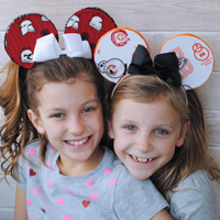 Star Wars Minnie Mouse Ears Tutorial