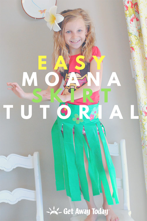 Easy Moana Skirt Tutorial || Get Away Today