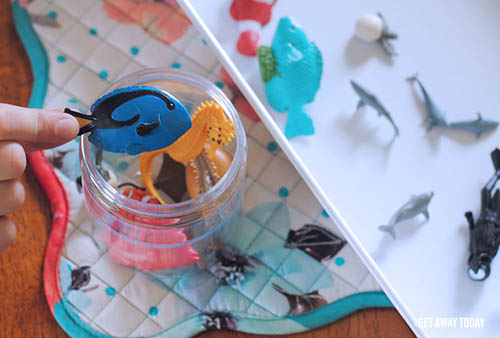 Finding Dory I-Spy Game Fish