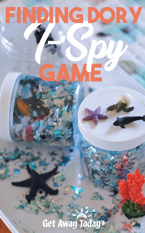 Finding Dory I-Spy Game || Get Away Today