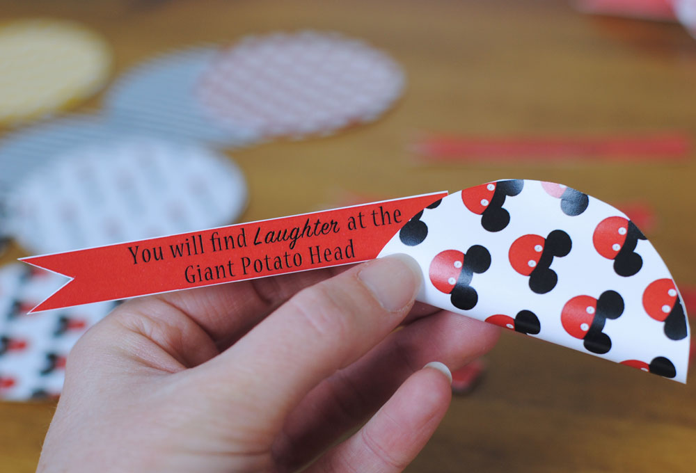 Disney Vacation Surprise Fortune Tags