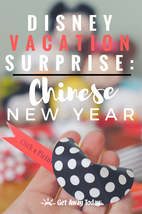 Disney Vacation Surprise - Chinese New Year