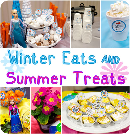 Images frozen food for parties party invitations ideas for Summer party menu ideas