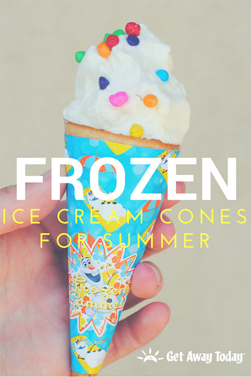 Frozen Ice Cream Cones for Summer || Get Away Today