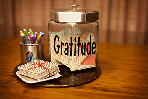 November Tradition Family Gratitude Jar Tutorial