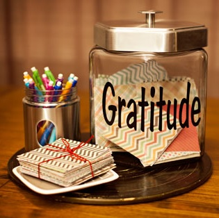 November Tradition: Family Gratitude Jar Tutorial