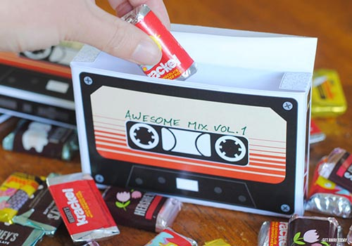 Guardians of the Galaxy Cassette Fill Candy