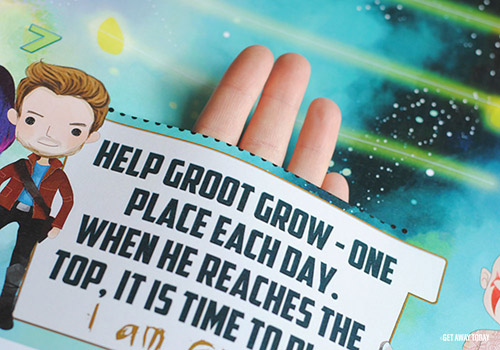 Guardians of the Galaxy Disney Vacation Countdown Hole