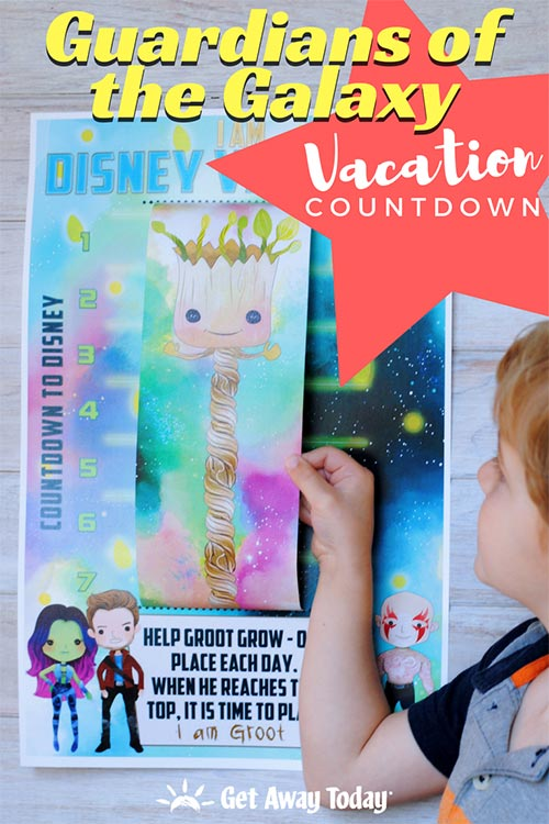 Guardians of the Galaxy Disney Vacation Countdown || Get Away Today
