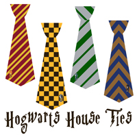 Magical hogwarts house tie t shirts and printables for Harry potter tie template