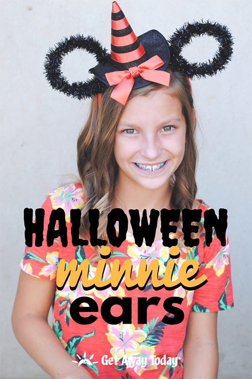 Halloween Minnie Ears || Get Away Today