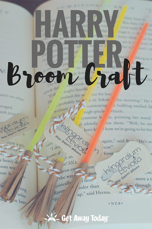 DIY Harry Potter Broom Craft || Get Away Today