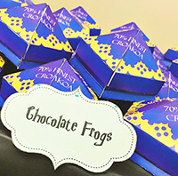 Harry Potter Chocolate Frogs: Tutorial and Free Printables