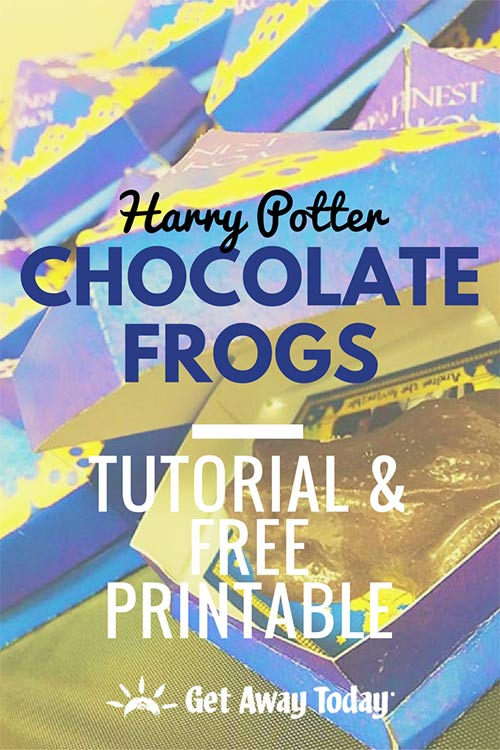 picture relating to Harry Potter Chocolate Frog Cards Printable titled Harry Potter Chocolate Frogs: Guide and Totally free Printables