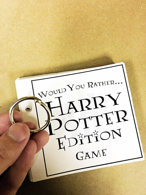 Harry potter would you rather game you could also easily choose to leave the cards loose and keep them in a bag it can be as simple as that whatever you decide to do were sure youre in solutioingenieria Choice Image