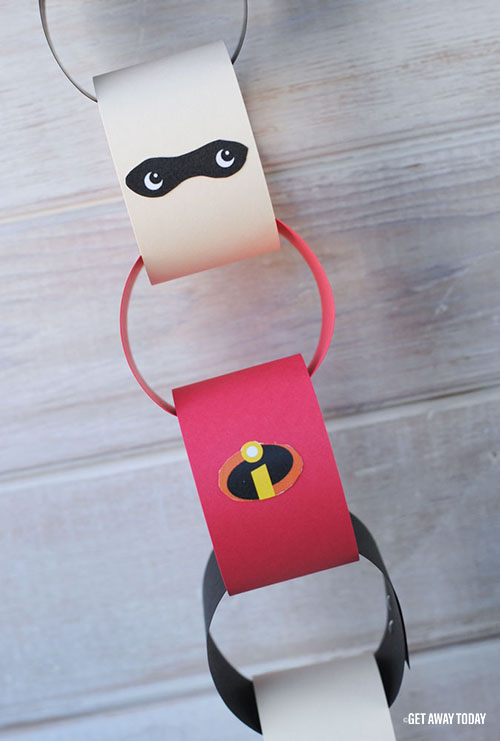 Incredibles Countdown Chain Guy