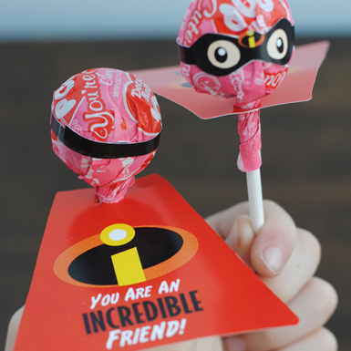 Incredibles Valentines - A Super Choice for Your Super Hero