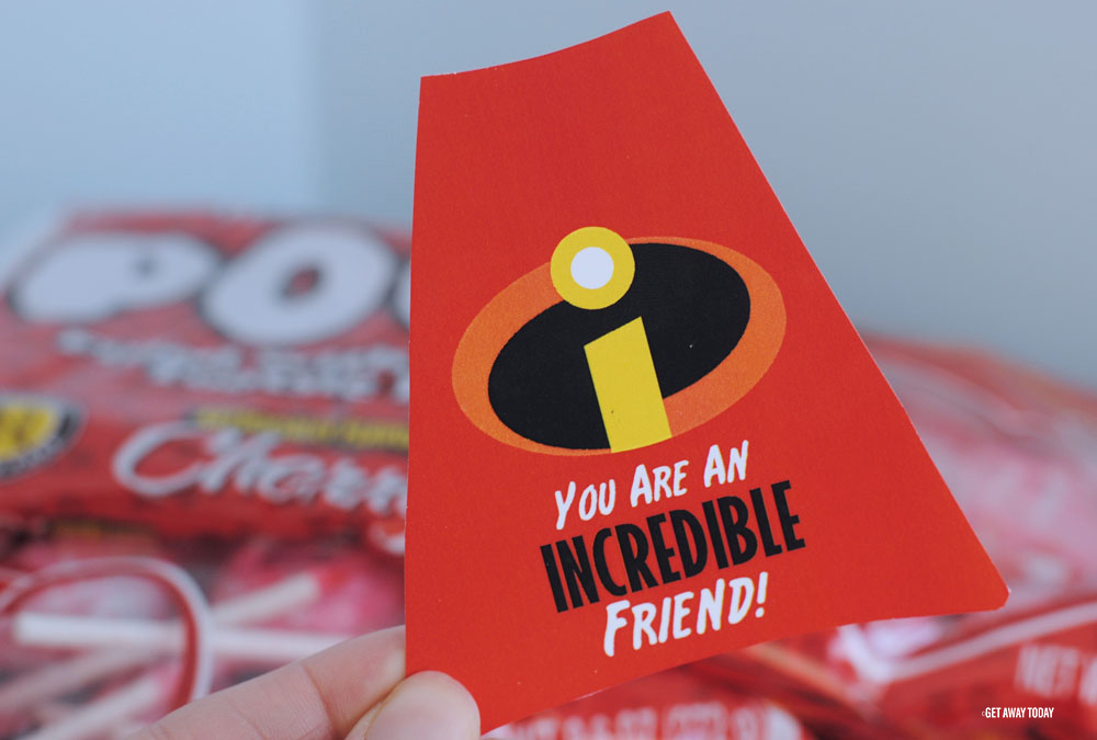 Incredibles Valentines Paste
