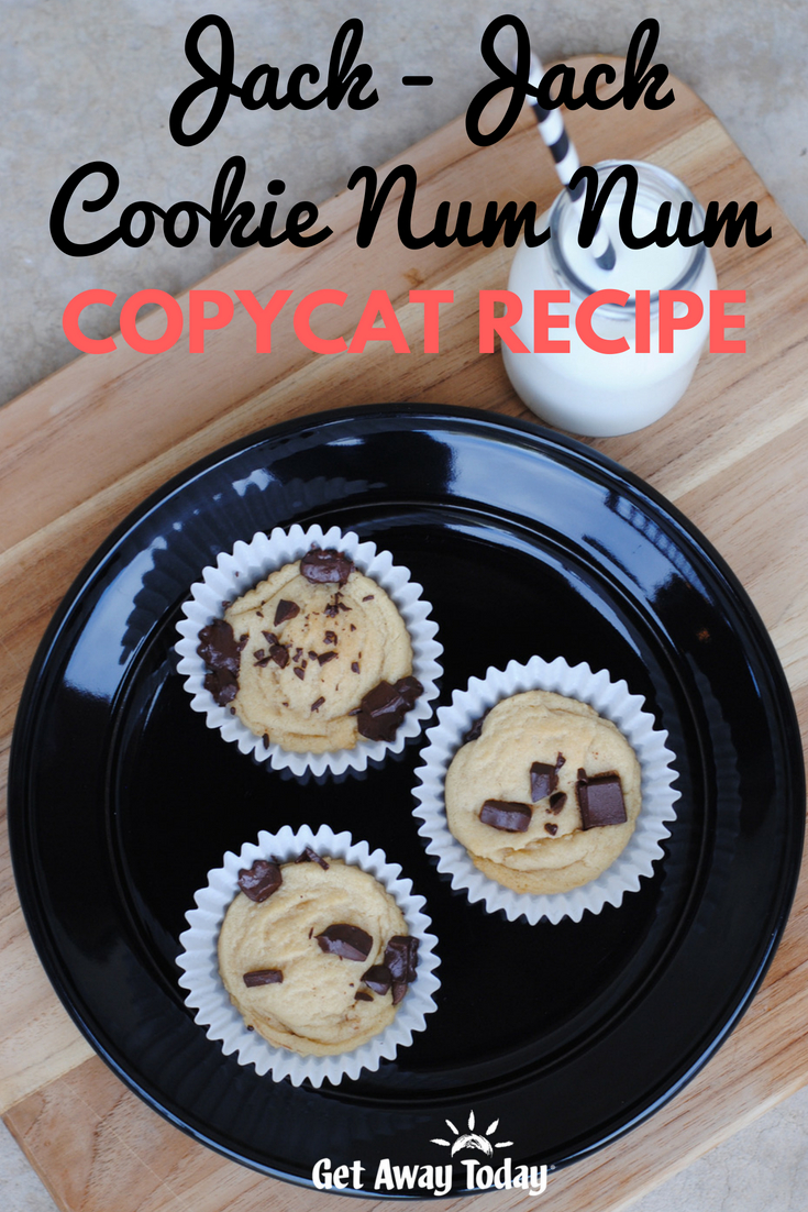 Jack-Jack Cookie Num Nums Recipe || Get Away Today