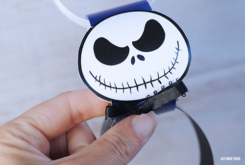 Jack Skellington Countdown Chain Tie