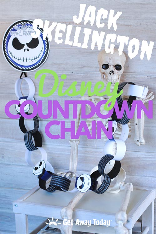 FREE Jack Skellington Countdown Chain || Get Away Today
