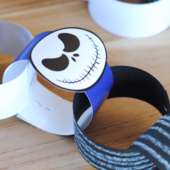 Jack Skellington Countdown Chain