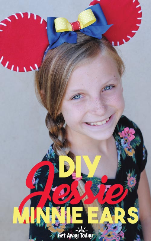 DIY Toy Story Jessie Ears || Get Away Today