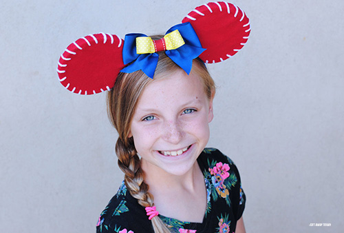 Toy Story Jessie Ears - Wearing