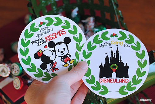 Disney Kissmas Vacation Surprise Note